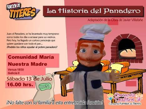 Afiche Historia del Panadero