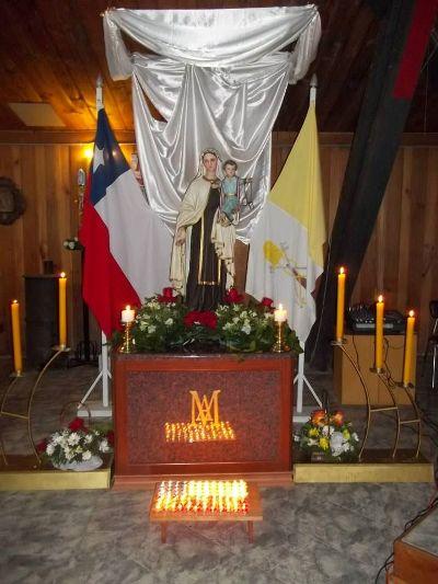 Cantata a la Carmelita Lonquimay 2013