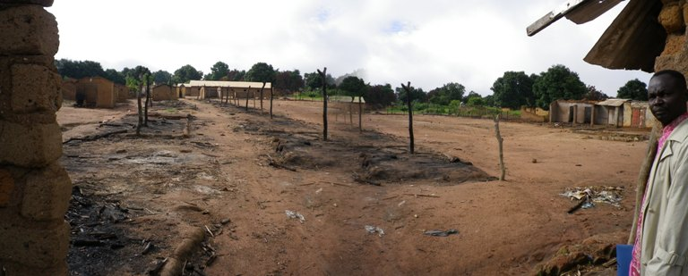 Central African Republic, Bouar diocese: In Bohong 3500 houses were burnt down by rebels of the Séléka in August 2013