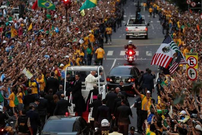 POPE-BRAZIL/