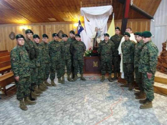 Militares de Lonquimay (Cantata Carmelita)