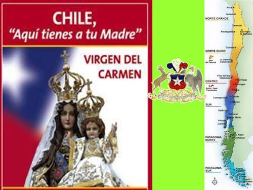 Llega a Malleco en Peregrinación la Virgen del Carmen Reina y Madre de  Chile – Obispado de Temuco